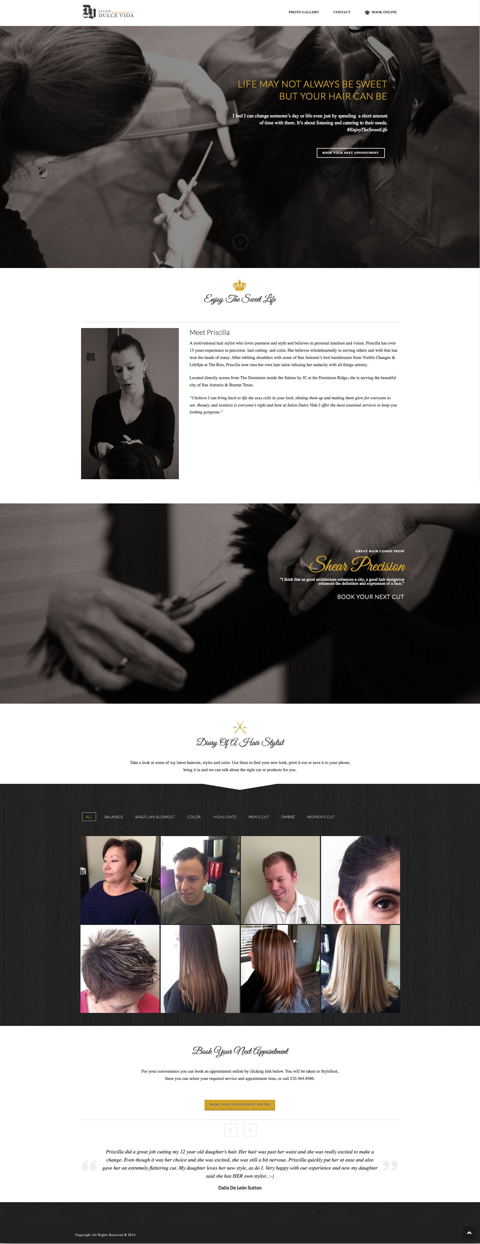 Website - Homepage